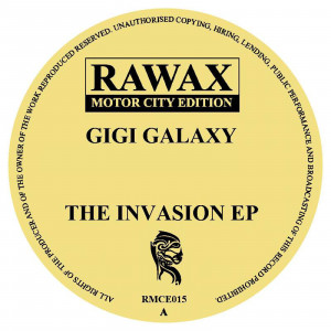 GIGI GALAXY - THE INVASION EP